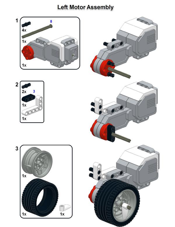 RileyRover – EV3 Classroom robot design – Damien Kee
