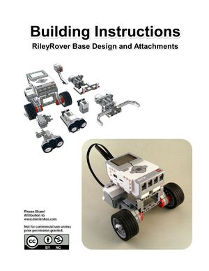 CAD model for my new EV3 classroom robot – Damien Kee