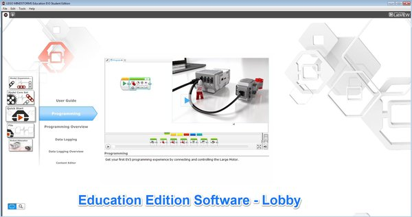 Damien Kee - Home - EV3 Education vs EV3 Home software